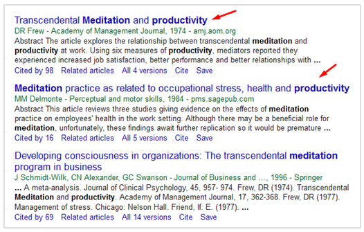 Contoh riet di Google Scholar