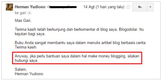 Email ke Gari