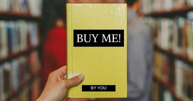 Ilustrasi membuat judul buku